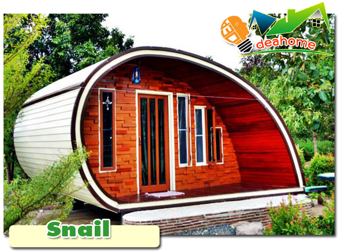 บ้านน็อคดาวน์ บ้านสำเร็จรูป snail
