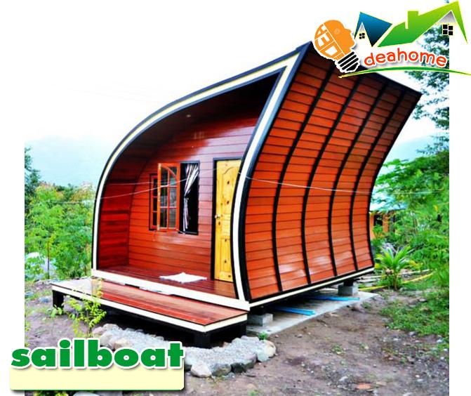 บ้านน็อคดาวน์ บ้านสำเร็จรูป sailboat