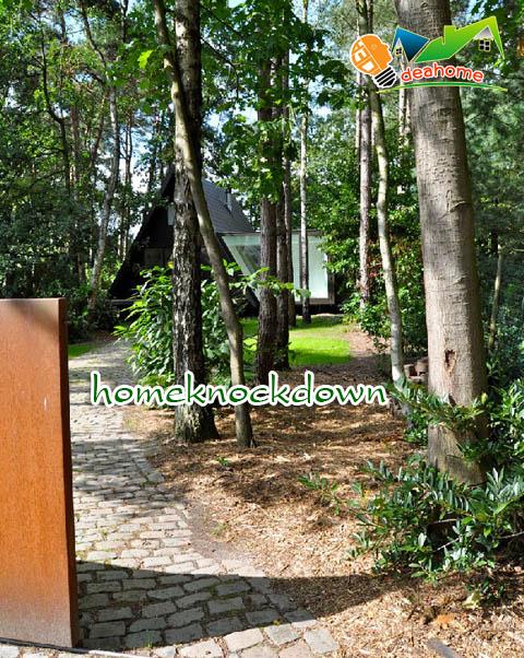 บ้านน็อคดาวน์ บ้านสำเร็จรูป pyramid - ภายนอก