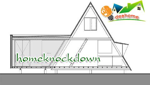 บ้านน็อคดาวน์ บ้านสำเร็จรูป pyramid ภายใน 3