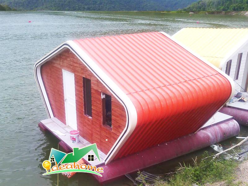 บ้านลอยน้ำ,แพลอยน้ำ,Floating Home 3,