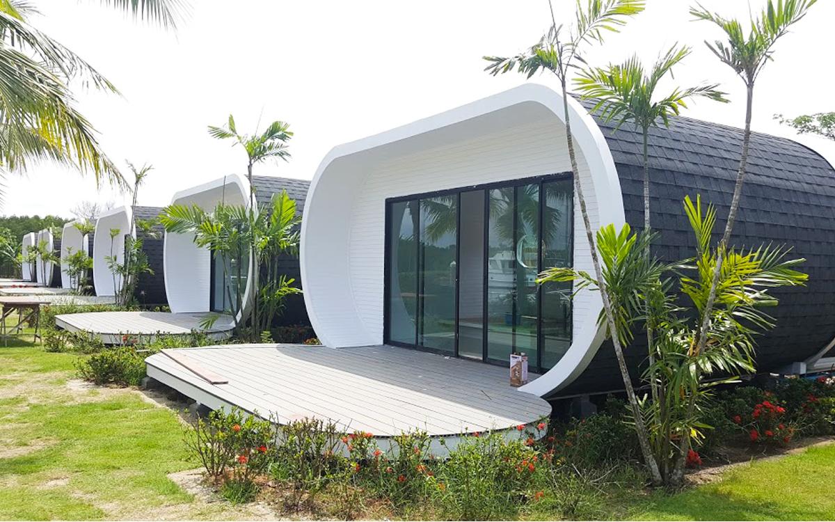 บ้านสำเร็จรูป-capsule รีสอร์ท